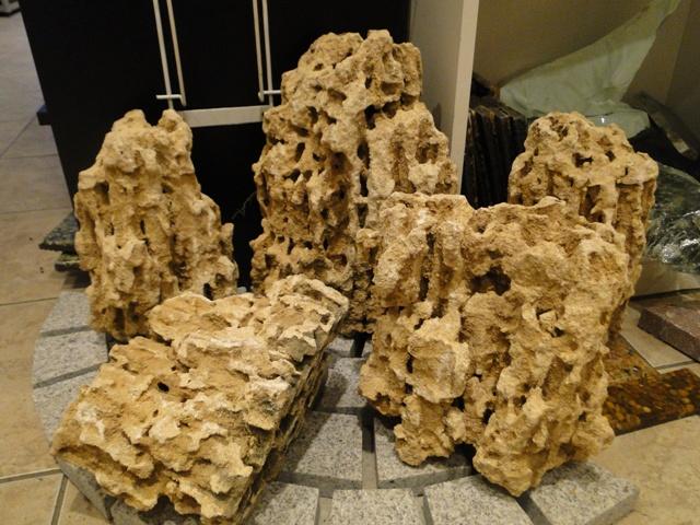 Камень песчаник пещерный фото