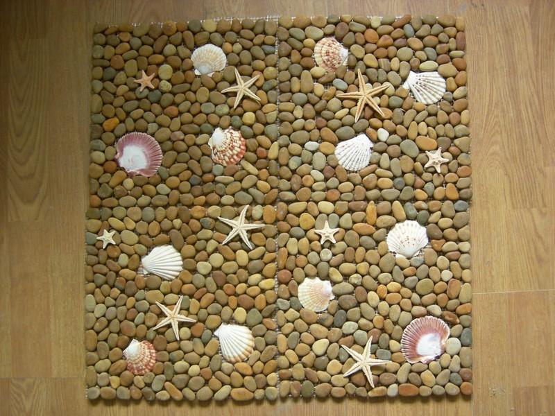Как сделать картину из морских камней своими руками