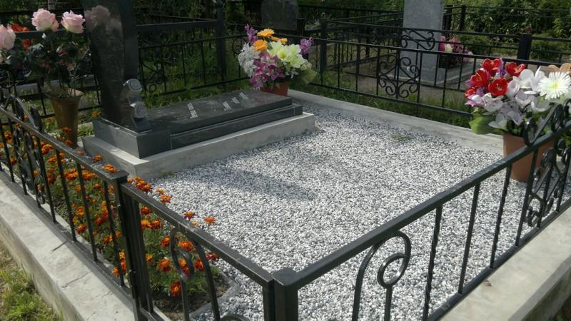 Оформление могилы на кладбище своими руками фото